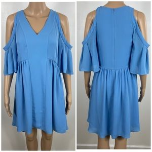 Crosby by Mollie Burch cold shoulder dress size XS